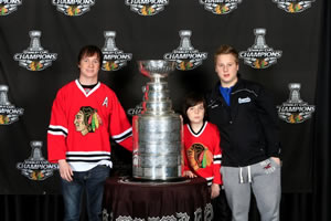 Jake, The Cup, Ryan and Sam
